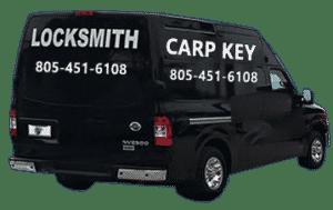 CarpKey Locksmith van